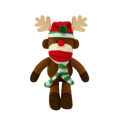 Huxley & Kent Huxley & Kent Holiday Sock Monkey Reindeer