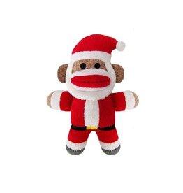 Huxley & Kent Huxley & Kent Holiday Sock Monkey Jolly Santa