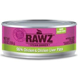 Rawz Rawz Cat Can 96% Chicken & Chicken Liver 5.5oz
