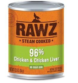 Rawz Rawz Dog Can 96% Chicken & Chicken Liver 12oz