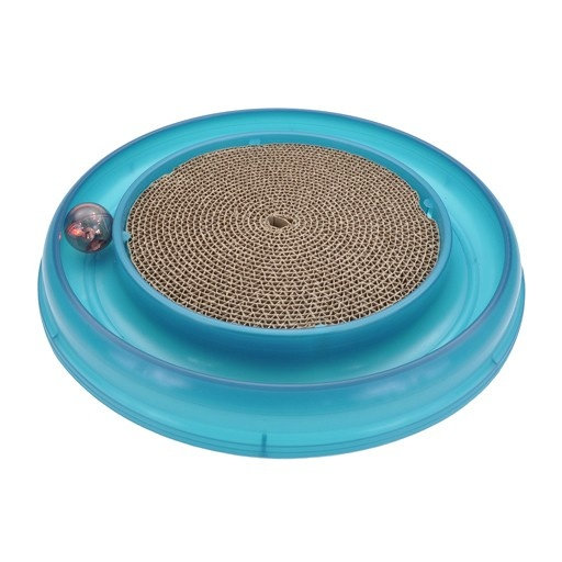 Bergan Pet Bergan Turbo Scratcher With Ball & Scratch Pad Centre