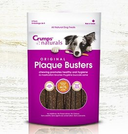 """Crumps' Naturals Crumps' Plaque Busters with Oyster 7"""" 8pk"""