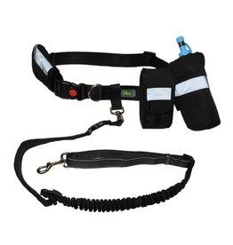 GF Pet GF Pet Waist Belt with Bungee Black