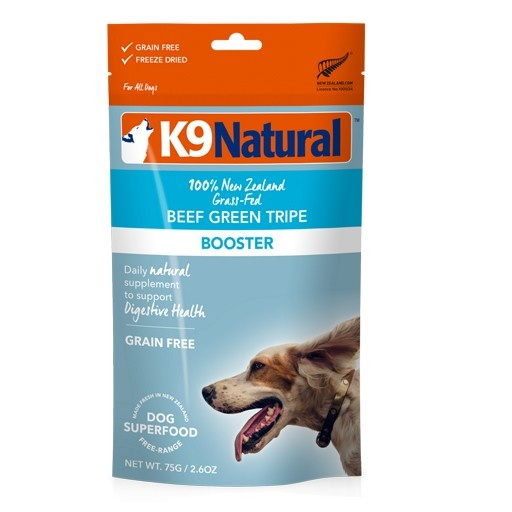 K9 Natural K9 Natural Freeze Dried Beef Green Tripe Food Topper 57g