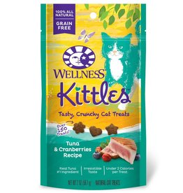Wellness Wellness Kittles Cat Treats Tuna & Cranberry 6oz