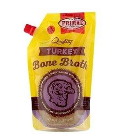 Primal Primal Turkey Bone Broth 20oz (Frozen)