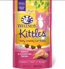 Wellness Wellness Kittles Cat Treats Salmon & Cranberry 6oz