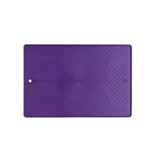 "Dexas Dexas Pet Bowl Grippmat Purple 13""x19"""