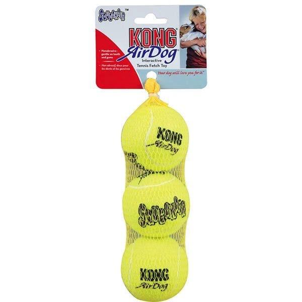 Kong Kong Air Squeaker Ball 3-Pack Medium