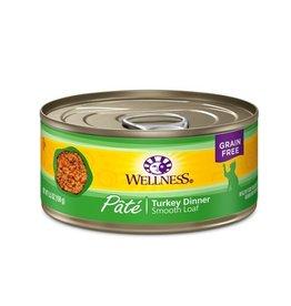 Wellness Wellness Cat Can Turkey 5.5oz
