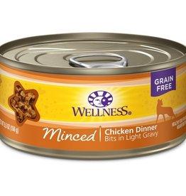 Wellness Wellness Cat Can Chicken Dinner Minced 5.5oz