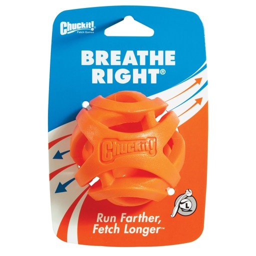 Canine Hardware Chuckit! Breath Right Fetch Ball Large