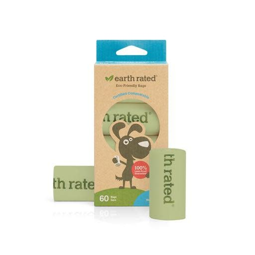Earth Rated Earth Rated Compostable PoopBags on Rolls 60ct