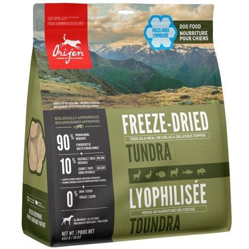 Orijen Orijen Freeze Dried Dog Food Tundra 16oz