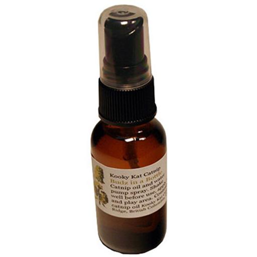 Kooky Kat Catnip Company Kooky Kat Catnip Budz in a Bottle Catnip Oil Spray 28mL