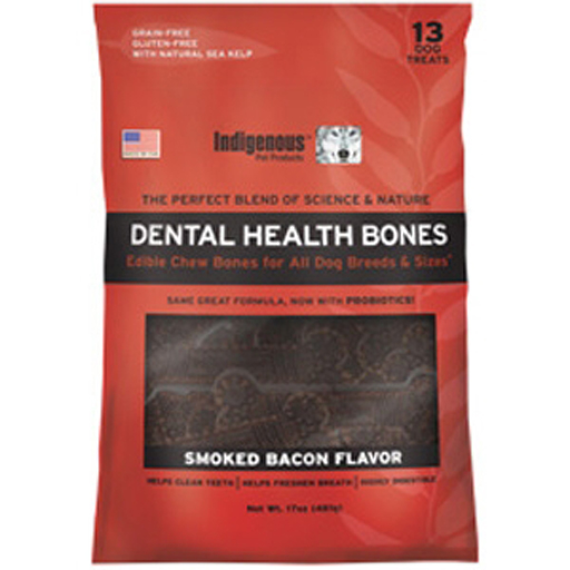 Indigenous Indigenous Dental Health Bones Bacon Formula 17oz