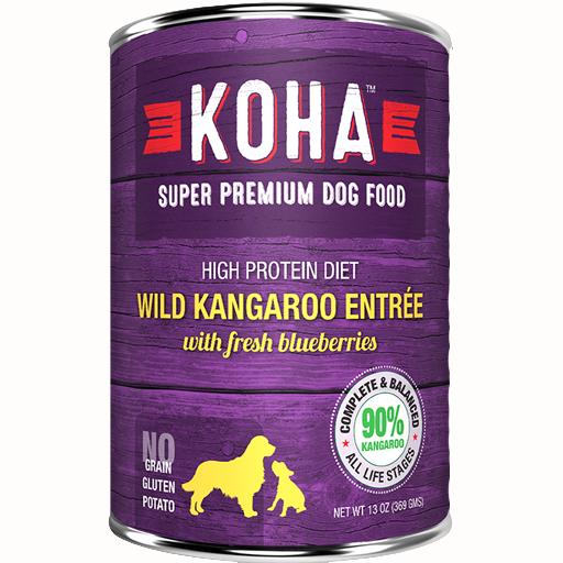 Koha Koha Dog Can 90% Wild Kangaroo Pate 13oz