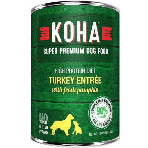 Koha Koha Dog Can 90% Turkey Pate 13oz