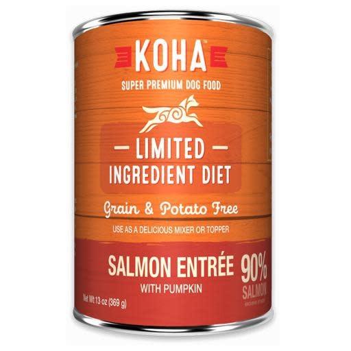 Koha Koha Dog Can 90% Salmon Pate 13oz