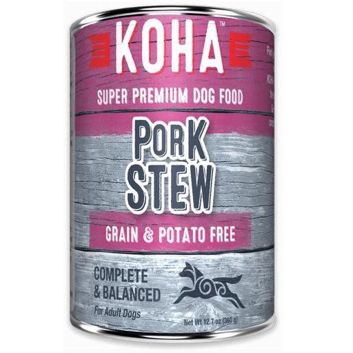 Koha Koha Dog Can Pork Stew 12.7oz