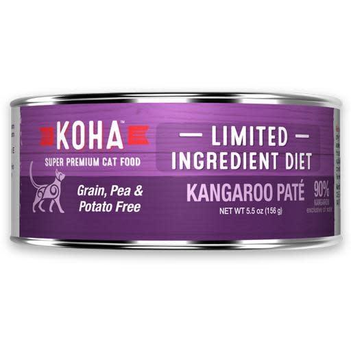 Koha Koha Cat Can 90% Kangaroo Pate 5.5oz