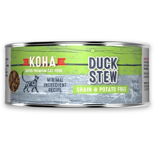 Koha Koha Cat Can Duck Stew 5.5oz
