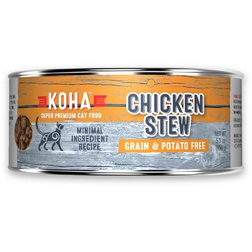 Koha Koha Cat Can Chicken Stew 5.5oz