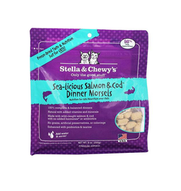 Stella & Chewy's Stella & Chewy's Freeze Dried Cat Sea-Licious Salmon & Cod Dinner 3.5oz