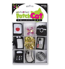 Patchwork Pet Patchwork Pet Patchcat Digital Box 9pk