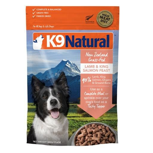 K9 Natural K9 Natural Freeze Dried Lamb & King Salmon 1.8kg