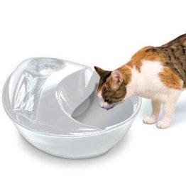 Pioneer Pet Pioneer Pet Smart Cat Raindrop Ceramic Fountain White 60oz