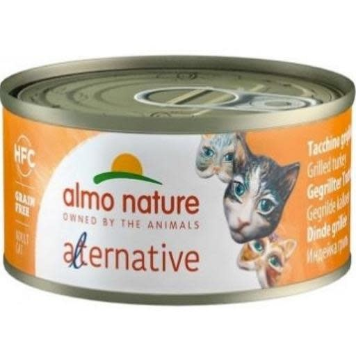 Almo Almo Nature Cat 100% Grilled Turkey in Broth 70g