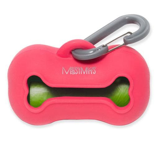 Messy Mutts Messy Mutts Silicone Waste Bag Holder Watermelon