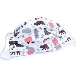 Pilouf Pilouf Protective Reusable Mask Winter Bears L
