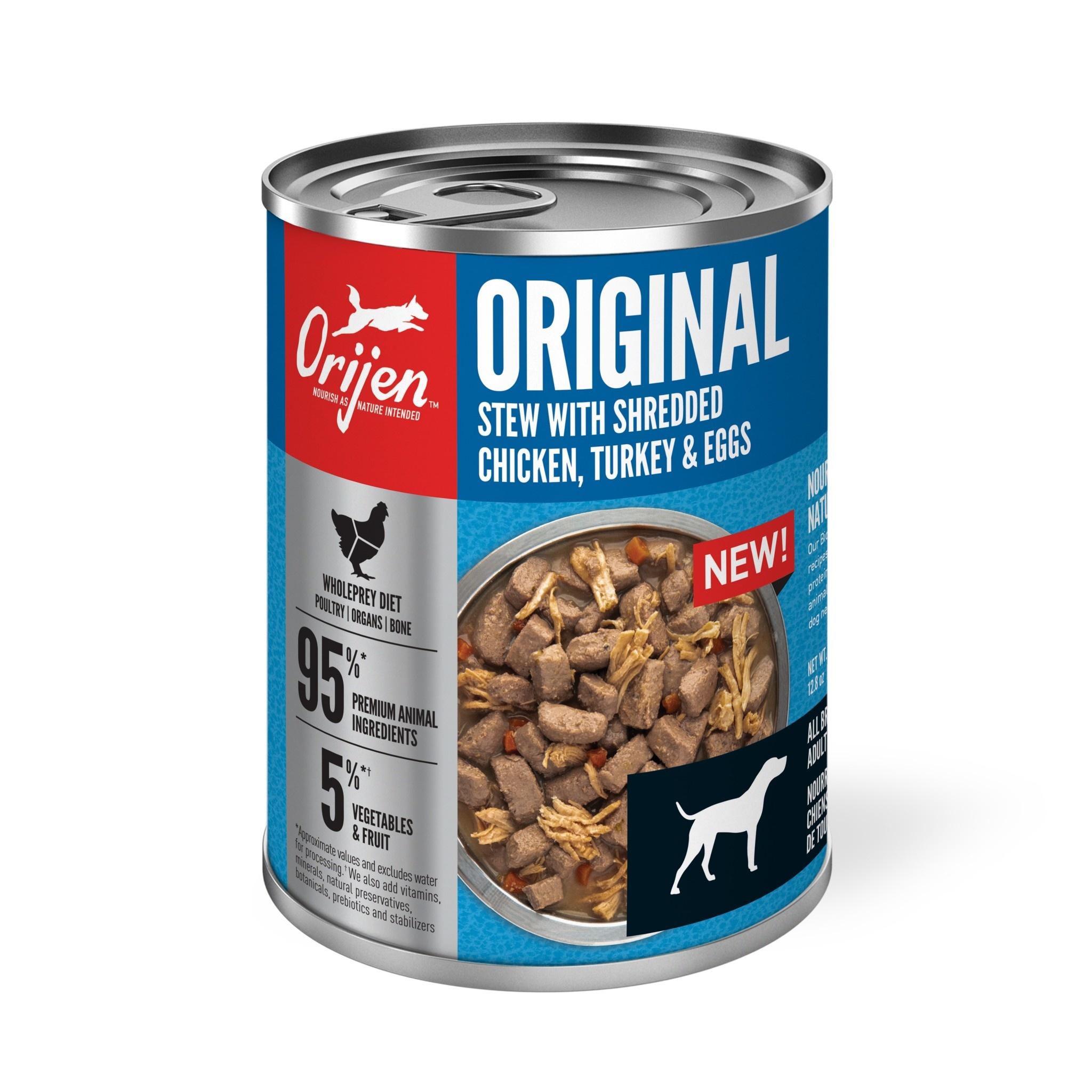 Orijen Premium Wet Dog Food Original Stew 363g
