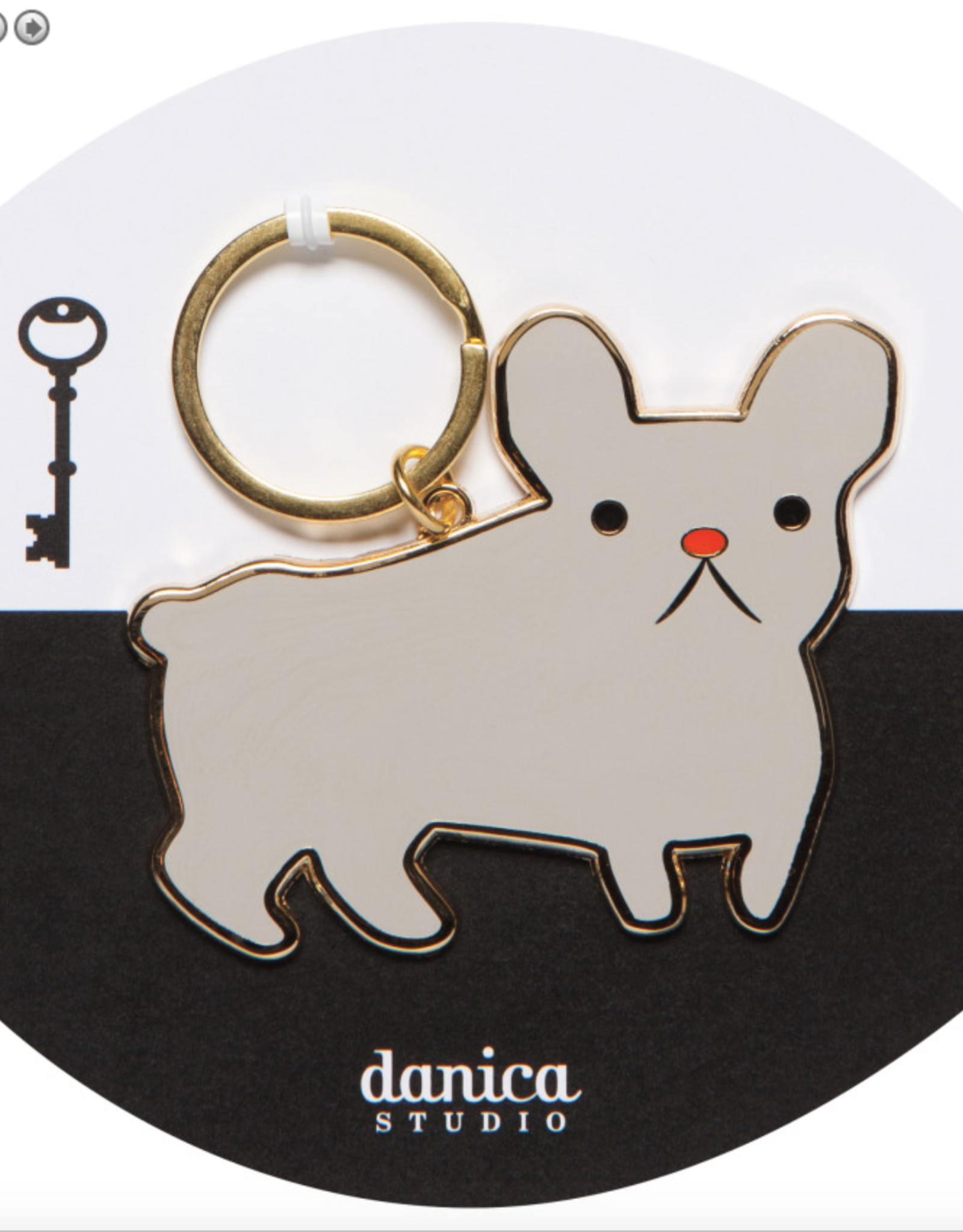 Danica Danica-Keychain Frenchie