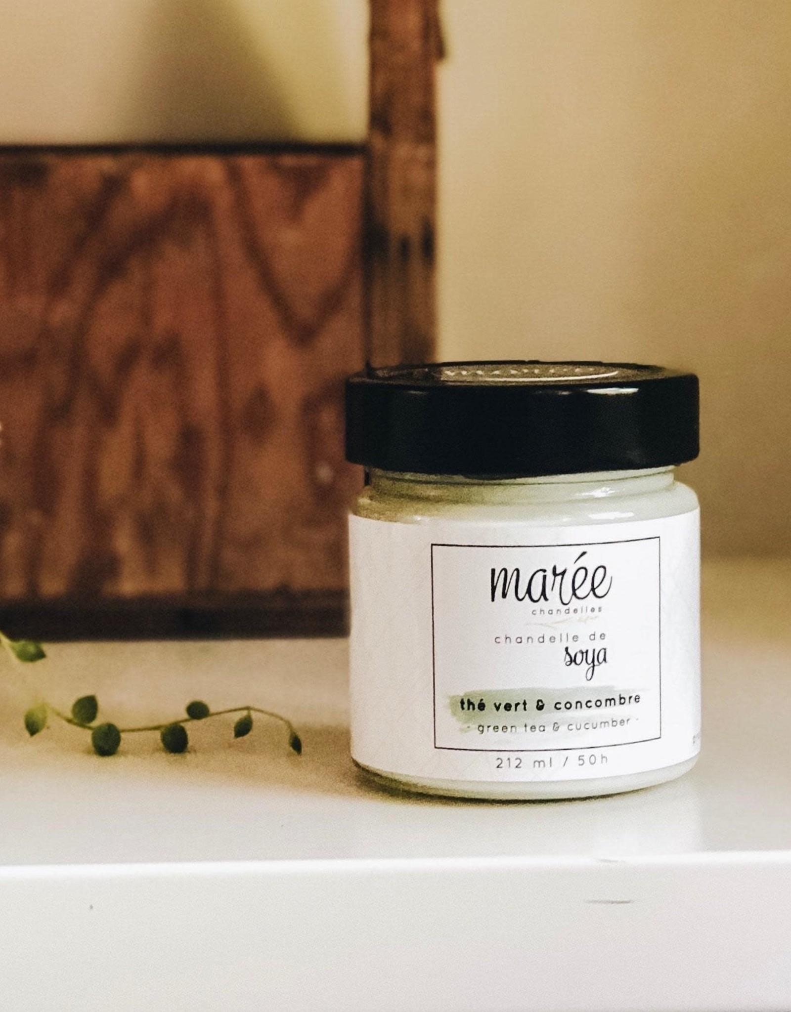Marée Chandelles Marée- Thé vert concombre M