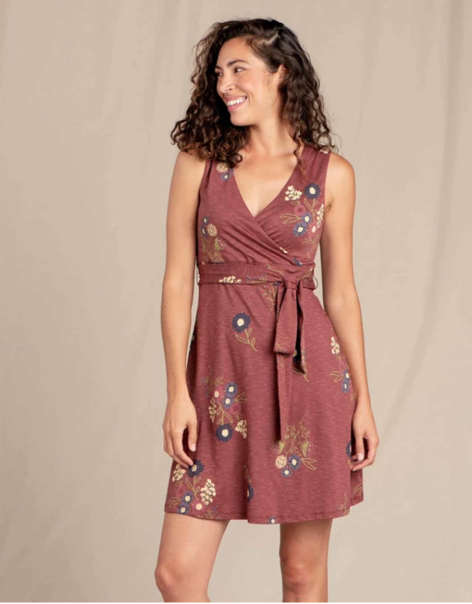 Toad&Co Toad&Co - CUE SLEEVELESS DRESS