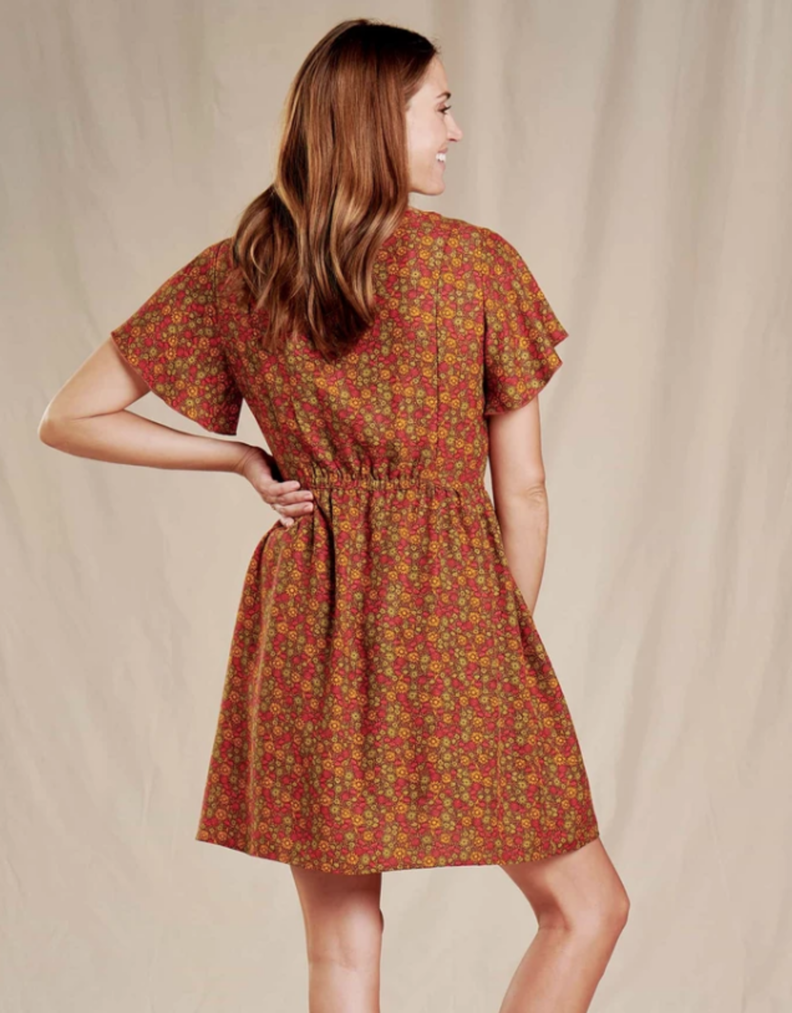 Toad&Co Toad&Co - Hillrose Button­Up Ss Dress