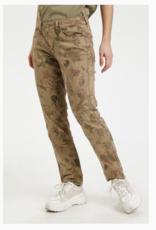 Cream Cream - CRLotte Printed Twill Pant
