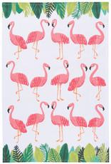Danica Danica - Flamingos Dishtowel