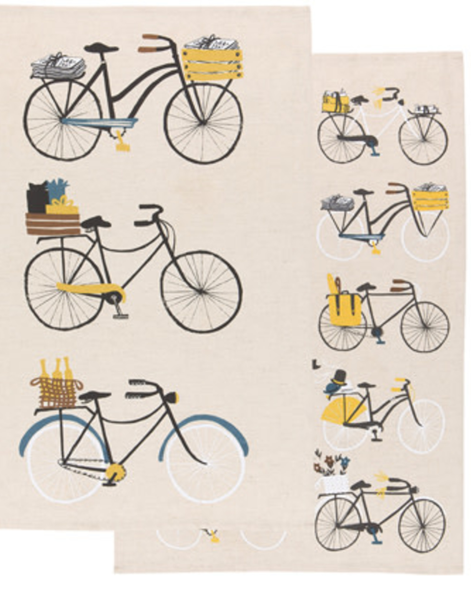 Danica Danica - Bicicletta Dishtowel Set of 2