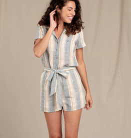 Toad&Co Toad&Co - WS CAMP COVE SS ROMPER