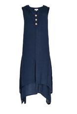 Apricot Apricot - 505148 Shark Hem Sleeveless Dress