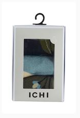 ICHI Ichi - Iaflower Socks 3-Pack