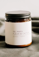 Marée Chandelles Maree - Chandelle Sel Marin et Fleur de Cactus