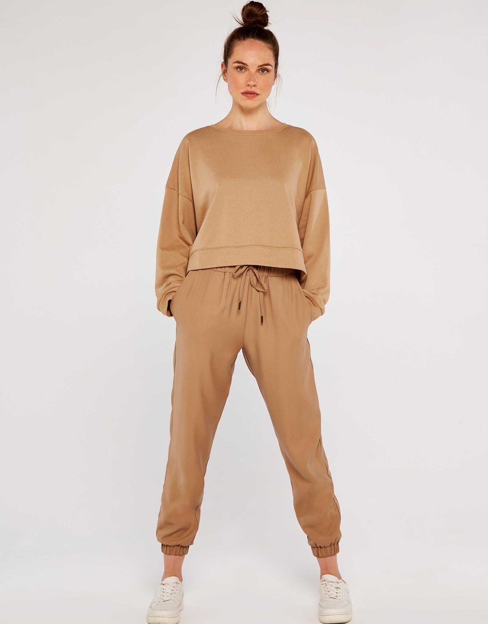 Apricot Apricot- Crop Sweatshirt 557697