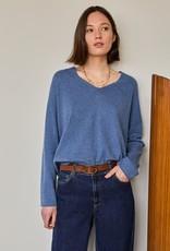 Yerse Yerse - 35510 Wide V-Neck Pullover