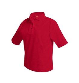 UNIFORM Polo Unisex Short Sleeve Shirt, red - final sale