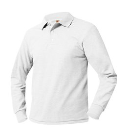 UNIFORM Unisex Polo Long Sleeve Shirt. SJBES, SJBMS, & SV schools